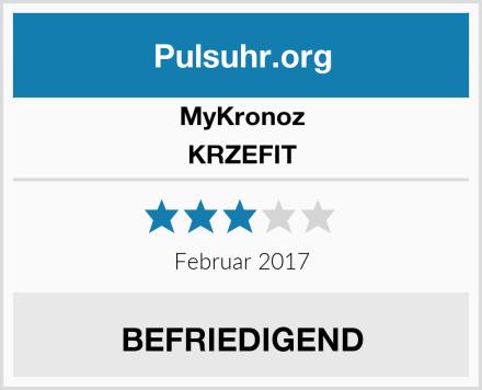 MyKronoz KRZEFIT Test