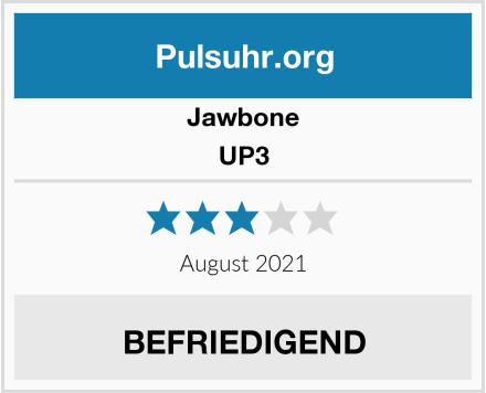 Jawbone UP3 Test