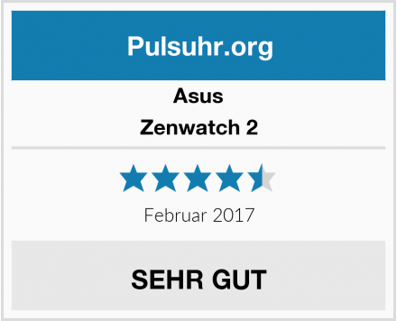 Asus Zenwatch 2 Test
