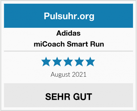 Adidas miCoach Smart Run Test