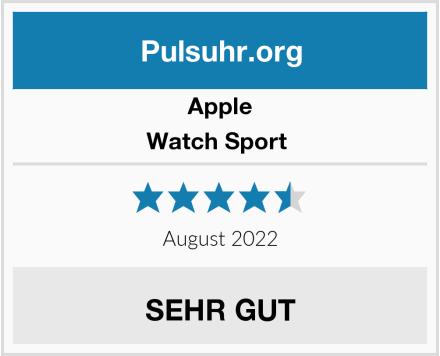 Apple Watch Sport  Test