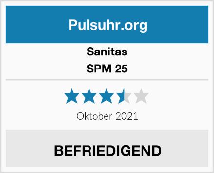 Sanitas SPM 25 Test