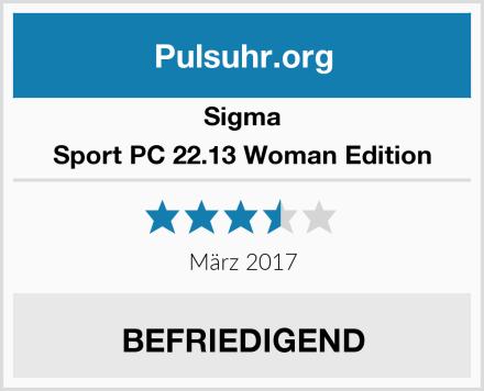Sigma Sport PC 22.13 Woman Edition Test