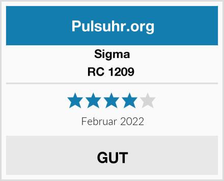 Sigma RC 1209  Test