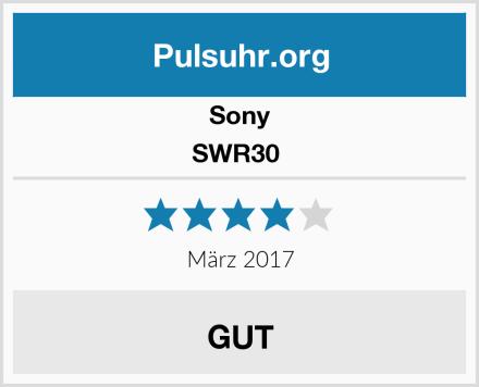 Sony SWR30  Test