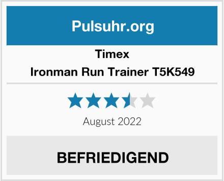Timex Ironman Run Trainer T5K549 Test