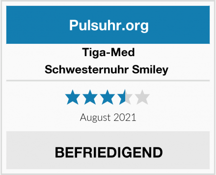 Tiga-Med Schwesternuhr Smiley  Test
