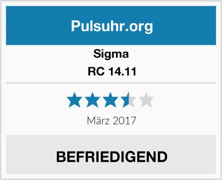 Sigma RC 14.11 Test