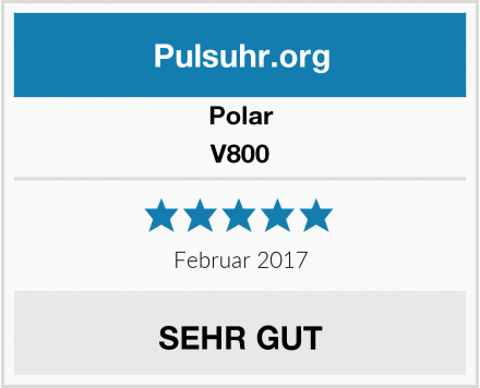 Polar V800 Test