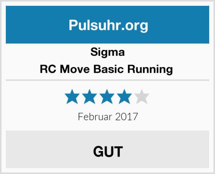 Sigma RC Move Basic Running  Test