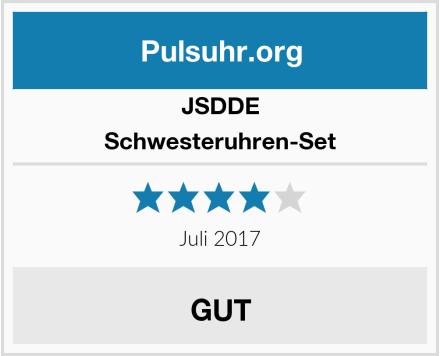 JSDDE Schwesteruhren-Set Test