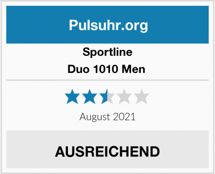 Sportline Duo 1010 Men  Test