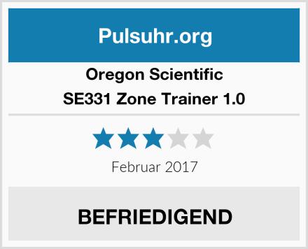 Oregon Scientific SE331 Zone Trainer 1.0 Test