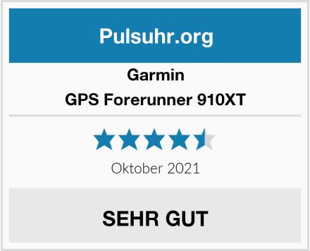 Garmin GPS Forerunner 910XT Test