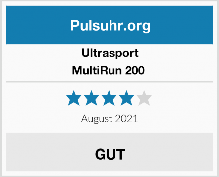 Ultrasport MultiRun 200  Test