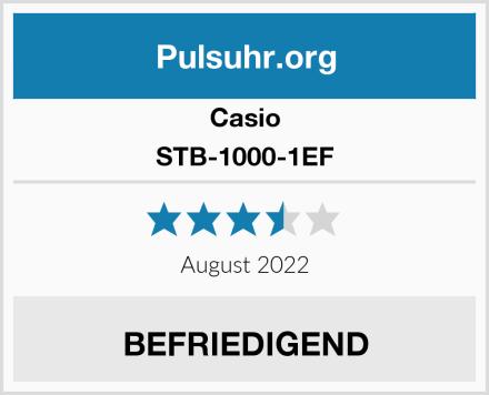 Casio STB-1000-1EF Test