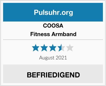 COOSA Fitness Armband Test