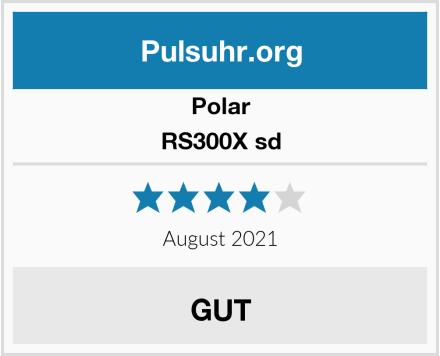 Polar RS300X sd Test