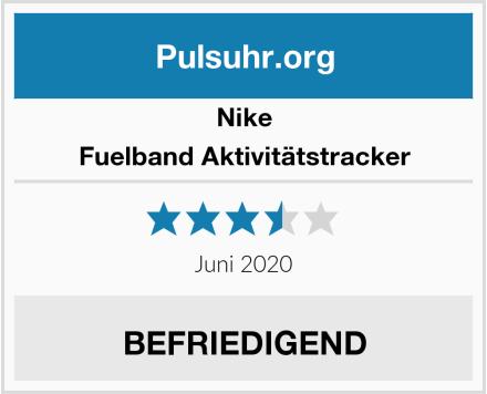 Nike Fuelband Aktivitätstracker Test