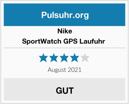 Nike SportWatch GPS Laufuhr  Test