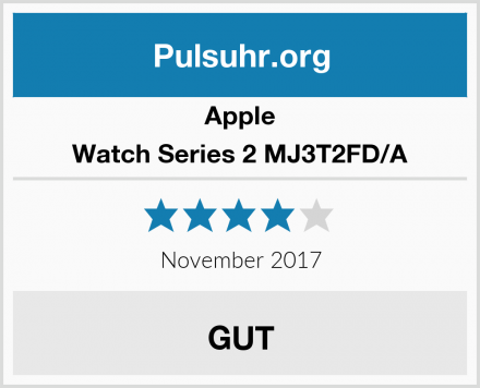 Apple Watch Series 2 MJ3T2FD/A Test