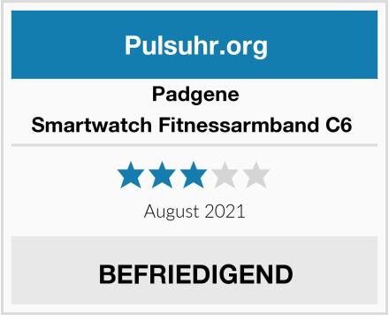 Padgene Smartwatch Fitnessarmband C6  Test