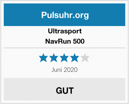 Ultrasport NavRun 500 Test