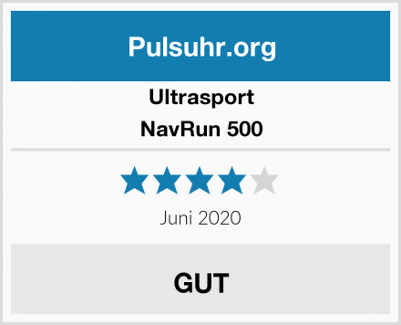 Ultrasport NavRun 500 Test