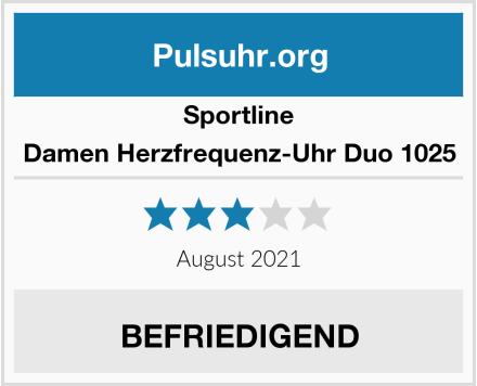 Sportline Damen Herzfrequenz-Uhr Duo 1025 Test