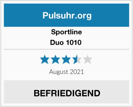 Sportline Duo 1010  Test