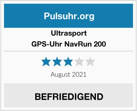 Ultrasport GPS-Uhr NavRun 200 Test