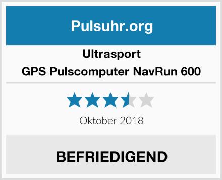 Ultrasport GPS Pulscomputer NavRun 600 Test