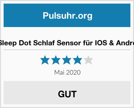Sleepace Sleep Dot Schlaf Sensor für IOS & Android System Test