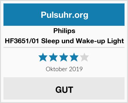 Philips HF3651/01 Sleep und Wake-up Light Test