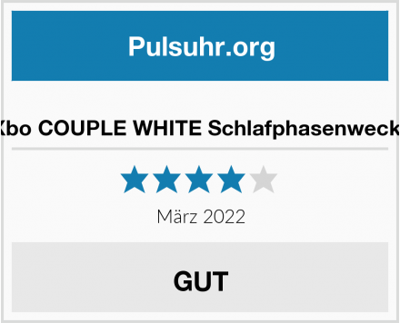 aXbo COUPLE WHITE Schlafphasenwecker Test