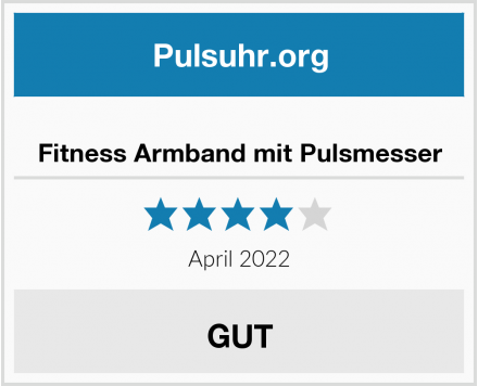 no name Fitness Armband mit Pulsmesser Test