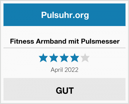Fitness Armband mit Pulsmesser Test