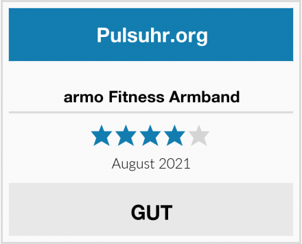 armo Fitness Armband Test