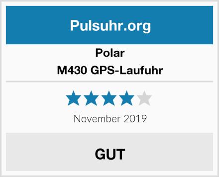 Polar M430 GPS-Laufuhr Test