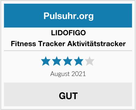 LIDOFIGO Fitness Tracker Aktivitätstracker Test