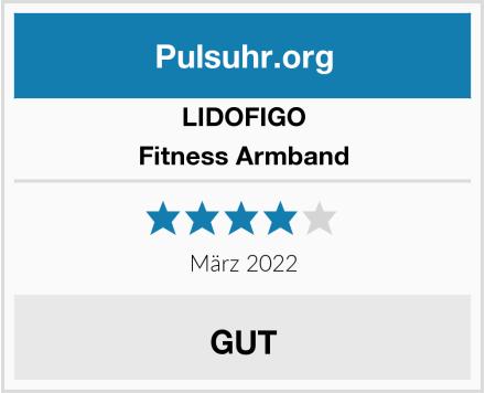 LIDOFIGO Fitness Armband Test