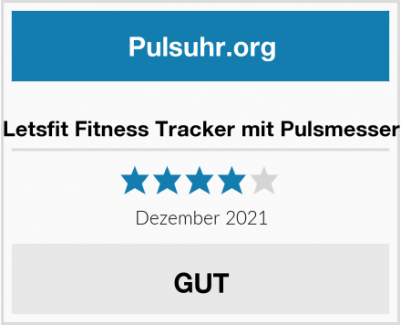 no name Letsfit Fitness Tracker mit Pulsmesser Test