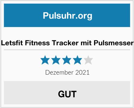 Letsfit Fitness Tracker mit Pulsmesser Test