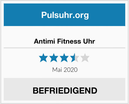 Antimi Fitness Uhr Test