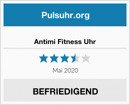 Antimi Fitness Uhr Test
