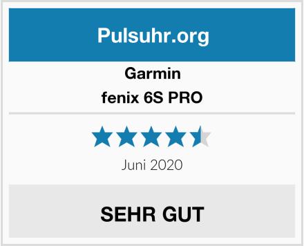 Garmin fenix 6S PRO Test