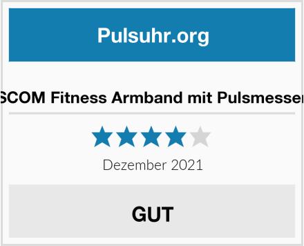LETSCOM Fitness Armband mit Pulsmesser Test