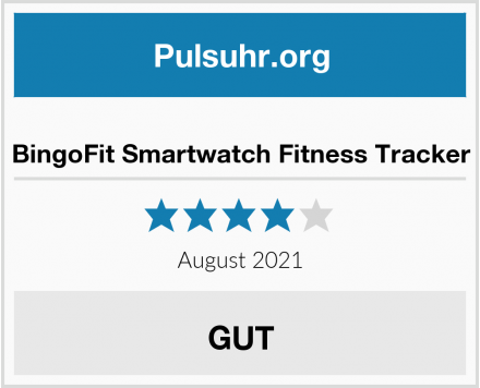 BingoFit Smartwatch Fitness Tracker Test