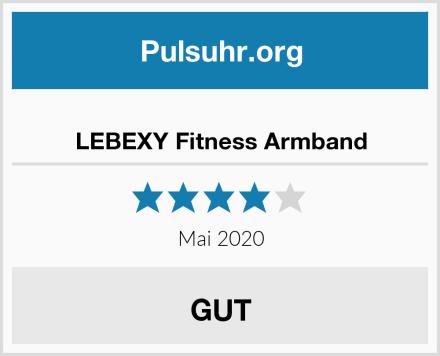 LEBEXY Fitness Armband Test
