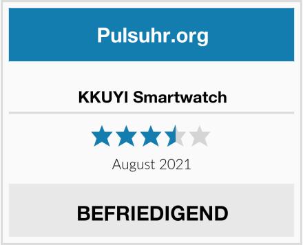 KKUYI Smartwatch Test